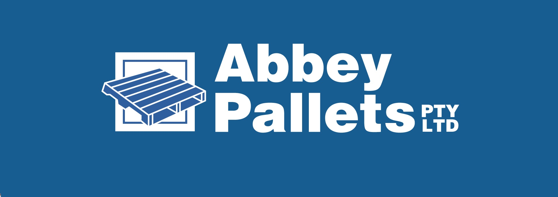 Abbey Pallet Banner